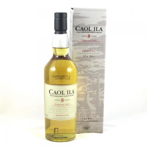Caol Ila 8 Year Old Unpeated 2007 Front