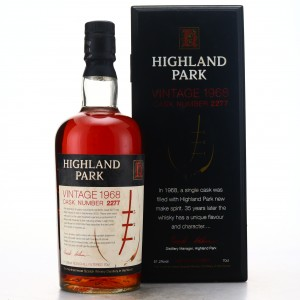 Highland Park 1968 Single Cask 35 Year Old #2277 / World of Whiskies