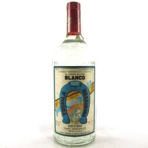 Herradura Blanco Tequila 1 Litre circa 1970s