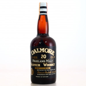 Dalmore 20 Year Old Duncan Macbeth 1960s