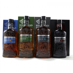Highland Park Travel Retail Range / 2 x 70cl & 2 x 1 Litre