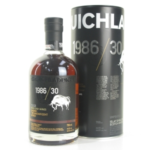 Bruichladdich 1986 Rare Cask Series 30 Year Old / The Magnificent Seven
