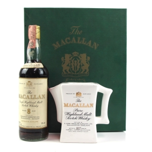 Macallan 8 Year Old 1980s with Ceramic Water Jug