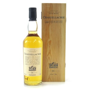 Craigellachie 14 Year Old Flora and Fauna / Wooden Box