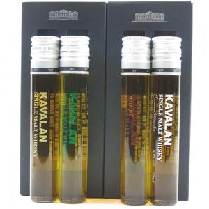 Kavalan Test Tube Gift Pack 4 x 5cl