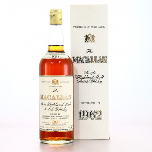 Macallan 1962 Campbell, Hope and King 80 Proof / Rinaldi Import