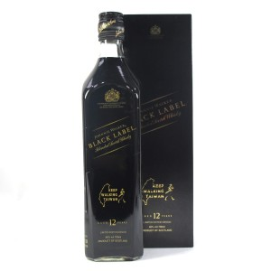 Johnnie Walker 12 Year Old Black Label / Keep Walking Taiwan Edition