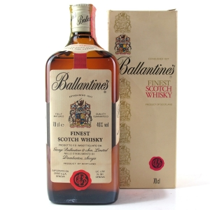 Ballantine's Finest Scotch Whisky / Spirit Import