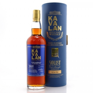 Kavalan Solist Cask Strength Vinho Barrique / 58.6%