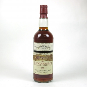 Glendronach 12 Year Old 1980s Front