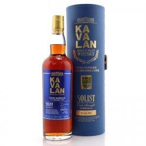 Kavalan Solist Cask Strength Vinho Barrique / 58.6%