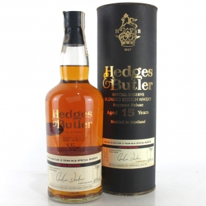 Hedges & Butler 15 Year Old Special Reserve