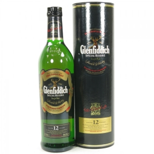 Glenfiddich 12 Year Old Special Reserve Front