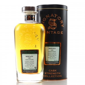 Mortlach 1991 Signatory Vintage 24 Year Old Cask Strength