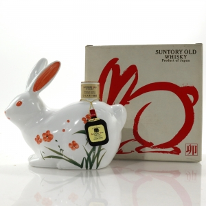 Suntory Old Whisky Decanter / Year of the Rabbit