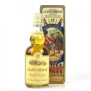 Glen Moray 12 Year Old / Queen's Own Cameron Highlanders Tin