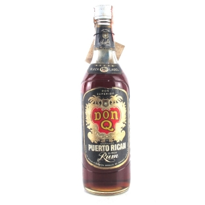 Serralle's Don Q 151 Proof Black Label Puerto Rican Rum 1970s / US Import