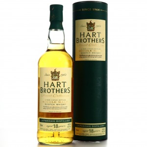 Laphroaig 1990 Hart Brothers 18 Year Old 75cl / US Import