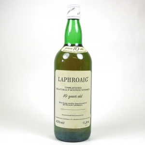 Laphroaig 10 Year Old 1980s 1 Litre