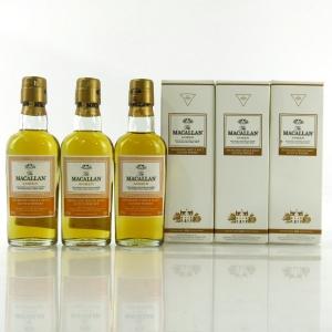 Macallan Amber Miniatures 3 x 5cl