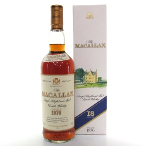 Macallan 18 Year Old 1976 75cl