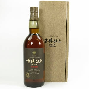 """Hakushu 1991 """"Furudaru Shiage"""" Pure Malt Front"""