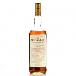 Macallan 25 Year Old Anniversary Malt 1980s / Premiere Wine Merchants, US