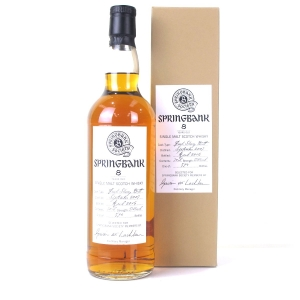 Springbank 2007 Springbank Society 8 Year Old / Fresh Sherry Butt