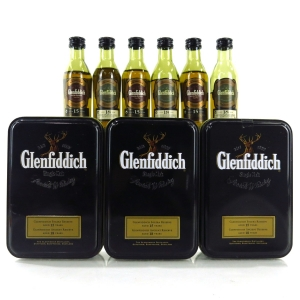 Glenfiddich 15 & 18 Year Old Miniature Gift Pack 6 x 5cl