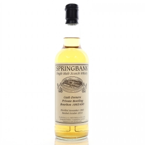 Springbank 1993 Private Cask 20 Year Old #450