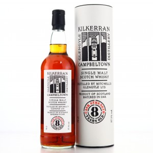 Kilkerran 8 Year Old Cask Strength Sherry Matured