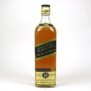 Johnnie Walker 12 Year Old Black Label 75cl