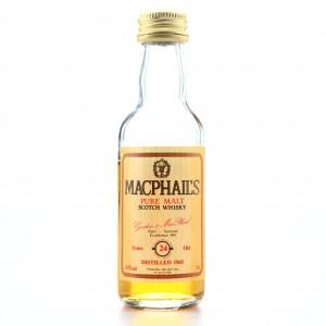 MacPhail's 1965 24 Year Old Pure Malt Miniature 5cl