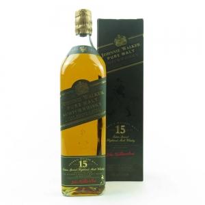Johnnie Walker Green Label 15 Year Old 1990s