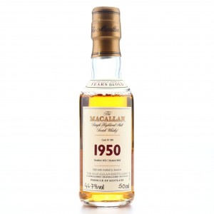 *Macallan 1950 Fine and Rare 52 Year Old #598 Miniature