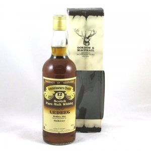 Ardbeg 1972 12 Year Old Gordon and Macphail Connoisseurs Choice Front