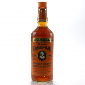 Old Grand-Dad 8 Year Old Bottled in Bond Kentucky Bourbon 100 Proof 1989