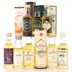 Highland Miniature Selection 8 x 5cl