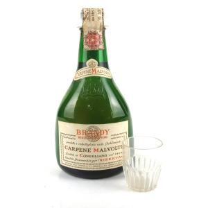 Carpene Malvolti Brandy 25cl 1970s