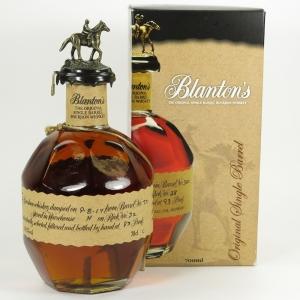 Blanton's Single Barrel / The Original Front