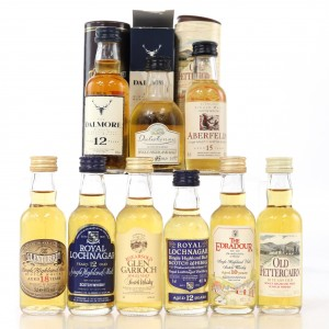 Highland Miniature Selection 9 x 5cl