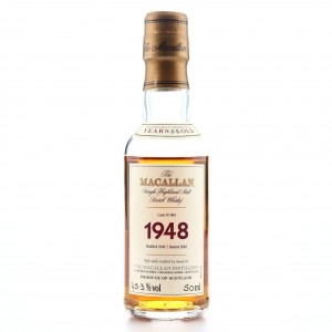 Macallan 1948 Fine and Rare 53 Year Old #609​​​​​​​ Miniature