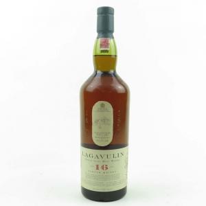 Lagavulin 16 Year Old White Horse Bottling 1 Litre