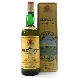 Glenlivet 12 Year Old Classic Golf Courses Turnberry 1980s / US Import