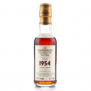 Macallan 1954 Fine and Rare 47 Year Old #1902​​​​​​​ Miniature
