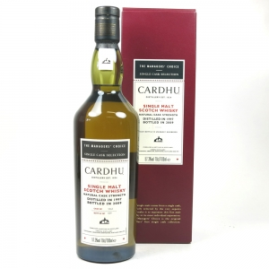 Cardhu 1997 Manager's Choice 12 Year Old