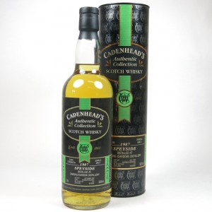 Cardhu 1987 Cadenhead's 13 Year Old