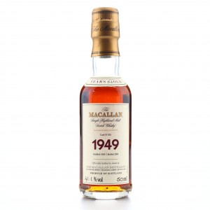 Macallan 1949 Fine and Rare 52 Year Old #935 Miniature