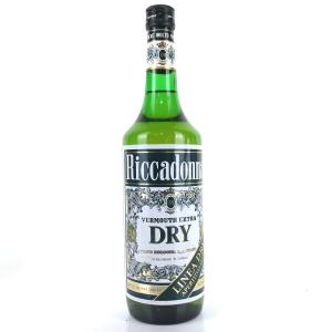 Riccadonna Dry Vermouth 1 Litre 1960s