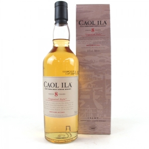 Caol Ila 8 Year Old Unpeated 2007